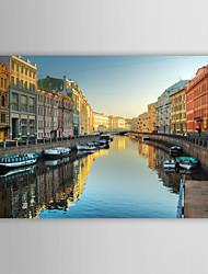 Stampa su tela artistica Paesaggio St Petersburg Cruise Port