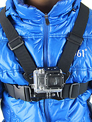 Verstelbare Black Chest Mount Harness voor GoPro Hero 3 + / 3/2/HD