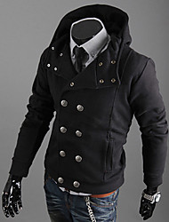 Men's Slim Fit Casual Hood Jacket