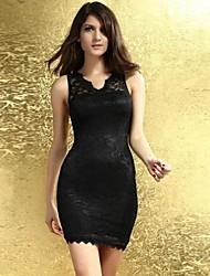 Antecedentes La fe de la mujer Vieira Encaje vestido de Negro