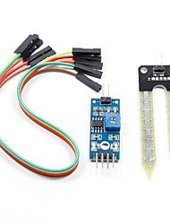 Soil Humidity Moisture Detection Sensor Module for (For Arduino) (Works with Official (For Arduino) Boards)