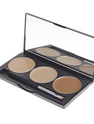 Trucco DANNI Professional 3 colori Concealer Pressed Powder (colore No.9)