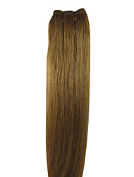 20inch 100% Human Hair Indian Hair Weft Silky Straight 100g More Colors Avaliable