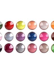 18-kleuren nail art beeldhouwwerk carving acryl poeder (willekeurige kleur)
