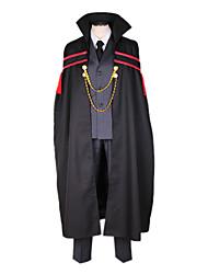 Reborn! Zwarte mantel Cosplay Kostuum