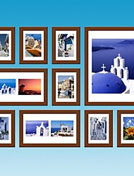 BrownPhoto Wall Frame Collection Set of 10