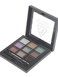 9 Couleur Pearly-lustre Eye Shadow (no 5 de couleur)