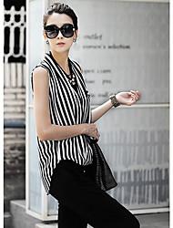 Kvinnors Breten Stripe Shirt