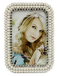 European Style Metal Pearl Picture Frame