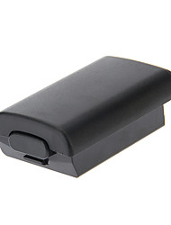 AA Battery Pack Back Door Cover Case Shell Box vervanging voor de Xbox 360 (zwart)