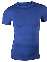 Men's T-Shirts , Spandex Casual HZXY