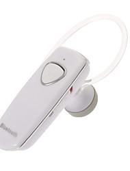 Headset Bluetooth v2.1 moda para telefones celulares (branco)