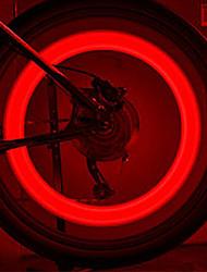 FJQXZ  Engineering Silicones Red Cycling Spoke Light