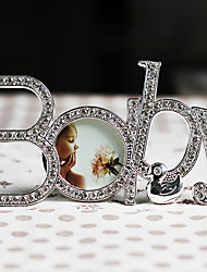 Modern Style Lovely Baby Metal Picture Frame