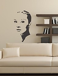 People Silhouette Decorative Wall Stickers