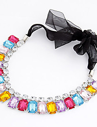 Women's Magnificent Gemmy Lacy Necklace