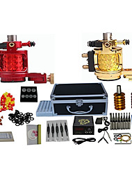 2 Machines Complete Tattoo Kit with Free Gift of 20 Tattoo Inks