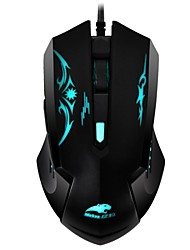 Mebao MG208 USB Wired Optical Computer Gaming Mouse 2400 DPI 6D Professional Game Mice With Colorful LED Light Luminous