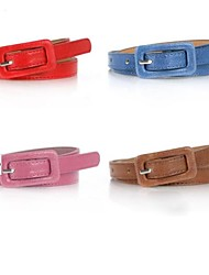 Women Skinny Belt , Cute Leather