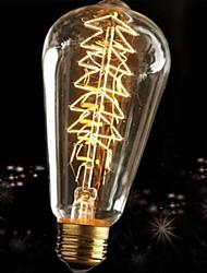 60w e27 indústria retro lâmpada incandescente estilo edison