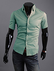 YJL Kurzarm Slim-Fashion Shirt