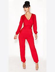 Deissy Moda oco Noble vestido (vermelho)
