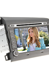 8Inch 2 DIN In-Dash-Auto-DVD-Spieler für Honda Civic-(2012) mit GPS, BT, IPOD, RDS, Touch-Screen, TV