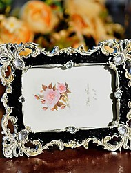 "6""  Modern European Style Pearl Polyresin Picture Frame"