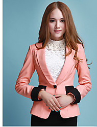 Women's Suits & Blazers , Polyester Casual MISSWELL