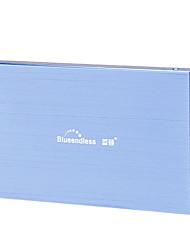 Blueendless 2.5 Inch HDD Box Blue