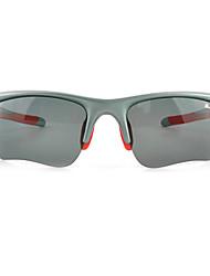 BASTO Fission Piece Polarized Gray + 4 Pcs PC Lens Light Gray Frame Cycling Glasses