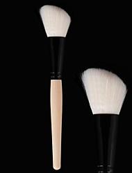 1 Кисть для румян Синтетические волосы Лицо