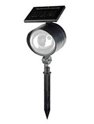 8White LED Edelstahl Solar Power Licht Outdoor Garten Rasen-Dekoration-Lampe (CSS-57267)