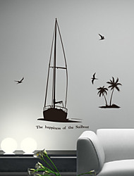 Leisure Seascape Decorative Wall Stickers
