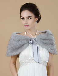 Wedding / Party/Evening Faux Fur Fur Wraps Shawls