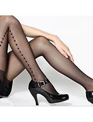 Feminina Fina Amor Jacquard Pantyhose