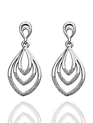 Meles Originality Leaf Elegant  Earrings