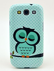 Special Owl Pattern TPU Soft Case Cover for Galaxy S3 I9300