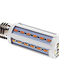 10W E26/E27 Bombillas LED de Mazorca T 42 SMD 5730 800 lm Blanco Cálido AC 100-240 V