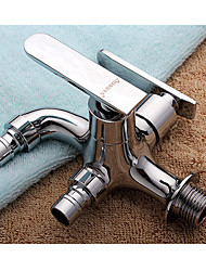 19*4*10 Brass Chrome cold water Sink Faucet