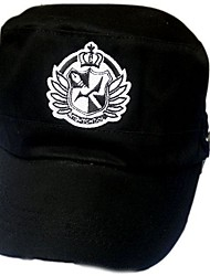 Dangan Ronpa Monokuma The School Badge Cosplay Cap