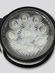 27w Epistar levou barra de luz Offroad Car LED lâmpada de trabalho Bar Circular