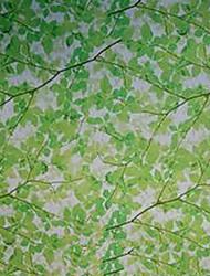 Наклейки для окон с принтом висении травы