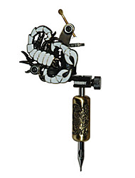 Empaistic Tattoo Machine - Aluminum Alloy White Scorpion Frame