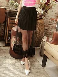 Женская Бюст Марля Прямо платье