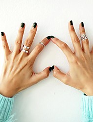 Hollywood loved Leaf blade Knuckle Ring Set 3pcs/set