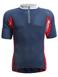 JAGGAD Cycling Tops / Jerseys Men's Bike Breathable / Quick Dry Short Sleeve Polyester / Elastane Patchwork Blue S / M / L / XL / XXL