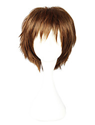 Cosplay Wigs Cosplay Cosplay Brown Short Anime Cosplay Wigs 30 CM Heat Resistant Fiber Female