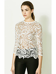 Women's Tops & Blouses , Lace Casual Maxlove