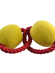 Double Balls and Rope Ring Style Toys for Pets Dogs Cats